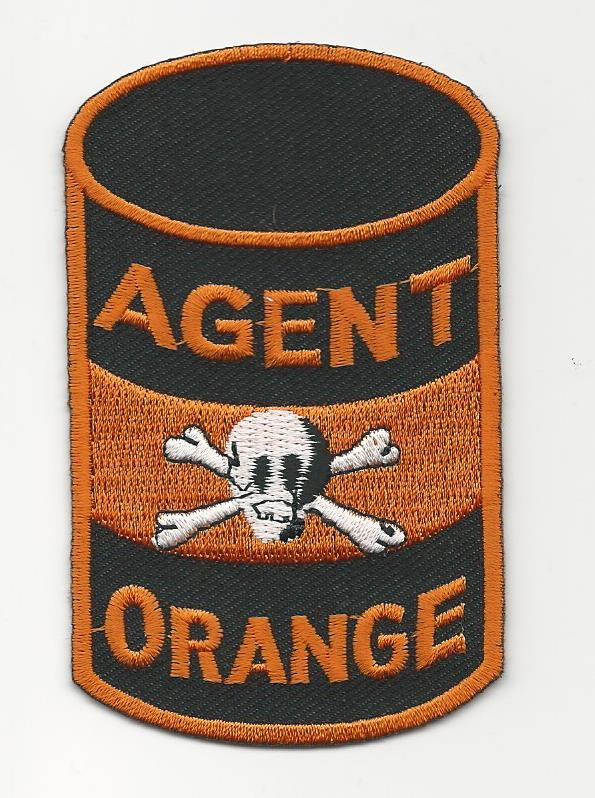 AGENT ORANGE 55 GALLON DRUM PATCHES