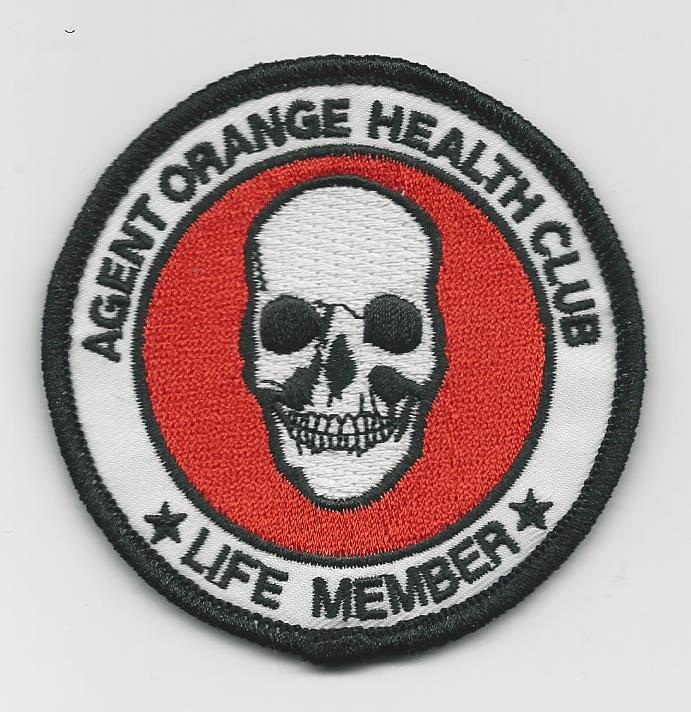 AGENT ORANGE HEALTH CLUB PATCHES