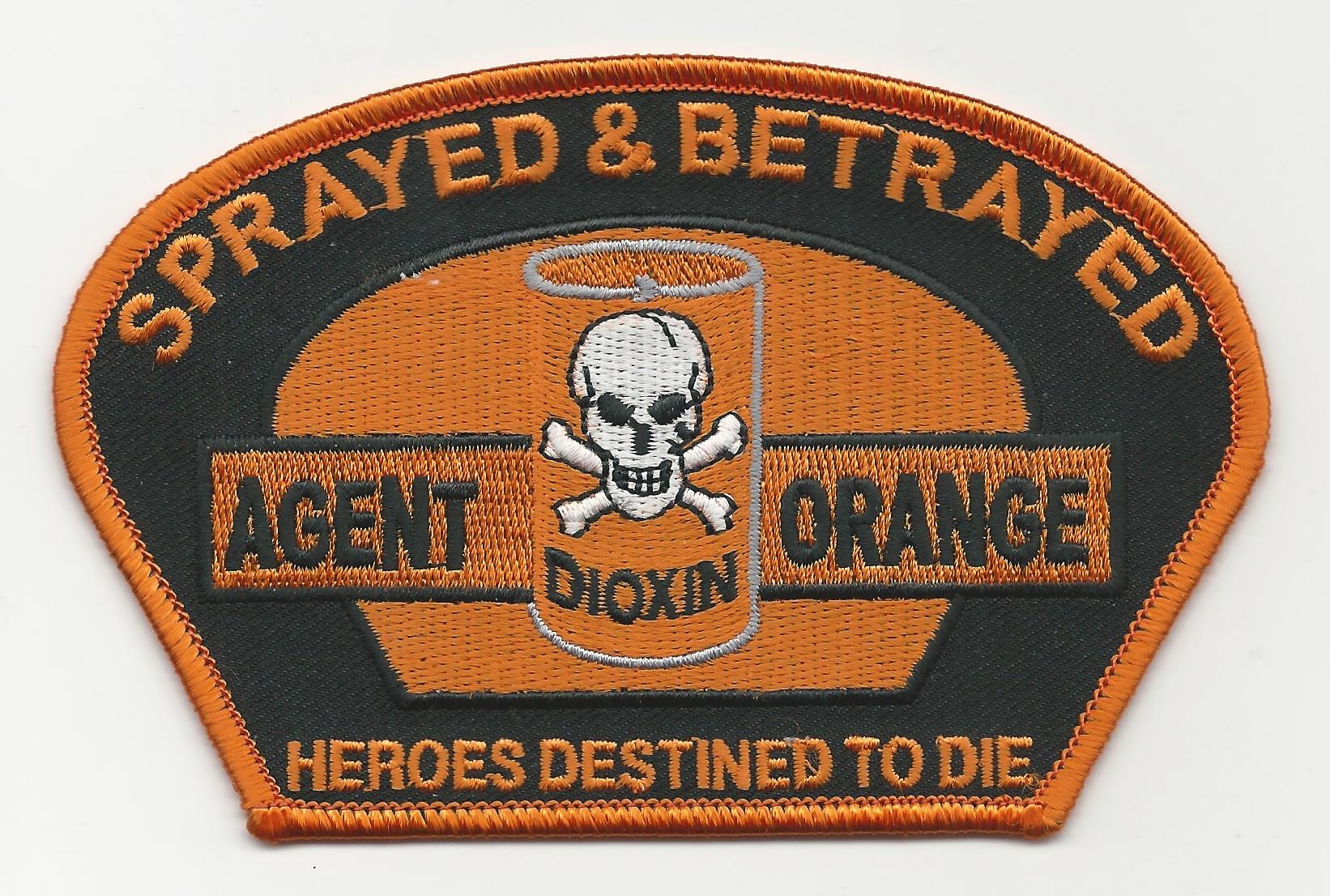 SPRAYED & BETRAYED HEROES DESTINED TO DIE PATCHES