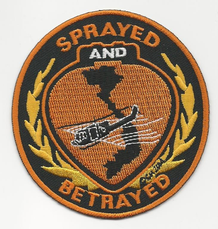 SPRAYED AND BETRAYED PATCHES