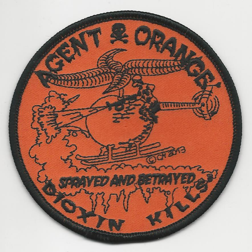 AGENT ORANGE DIOXIN KILLS PATCHES