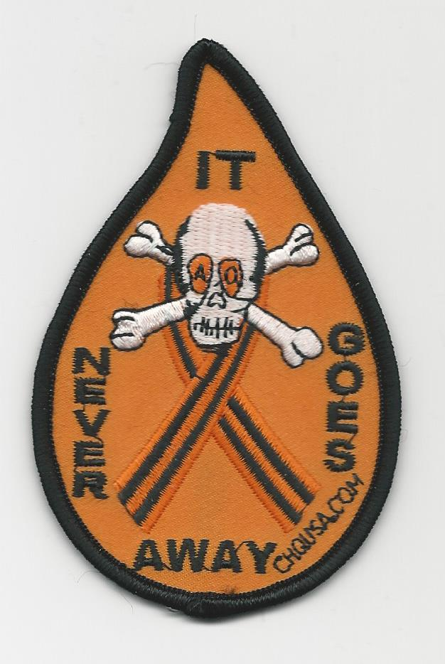 IT NEVER GOES AWAY PATCHES