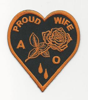 Agent Orange Proud Wife Heart patch