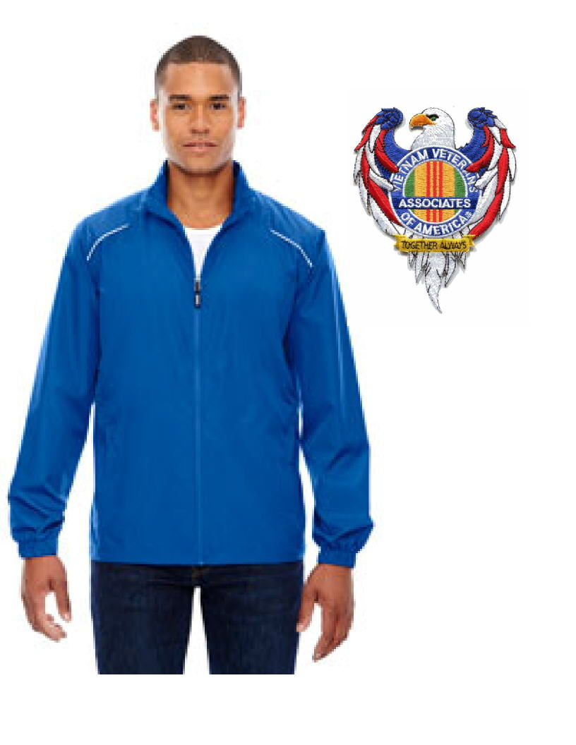 AVVA MENS JACKET WITH EAGLE PATCH