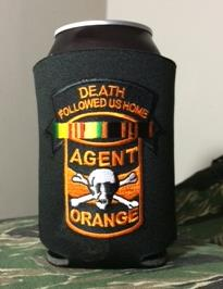 DEATH FOLLOWED US HOME KOOZIE/CAN COOLER BLACK