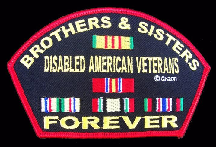 Disabled American Veterans Patches