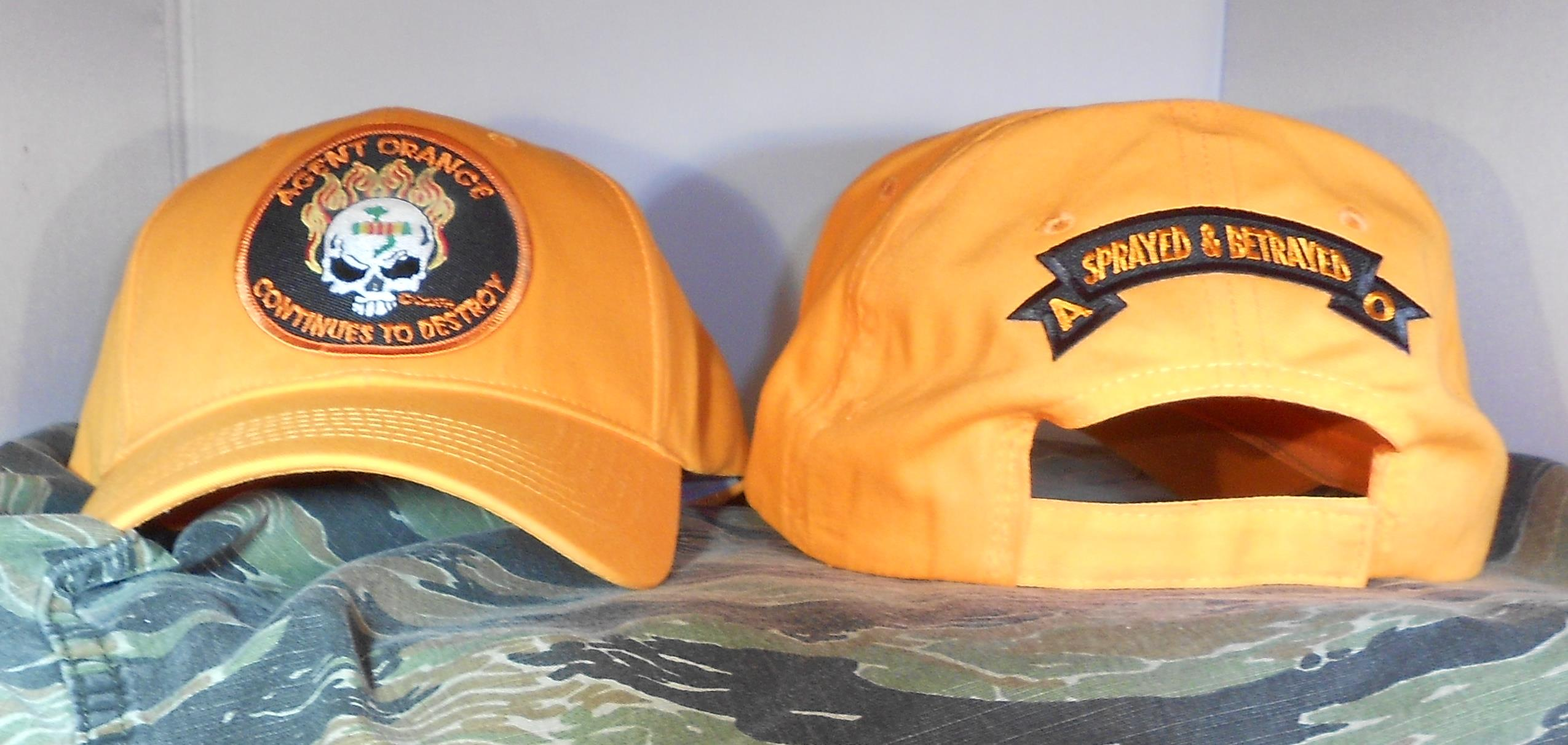AGENT ORANGE CONTINUES TO DESTROY ORANGE HATS
