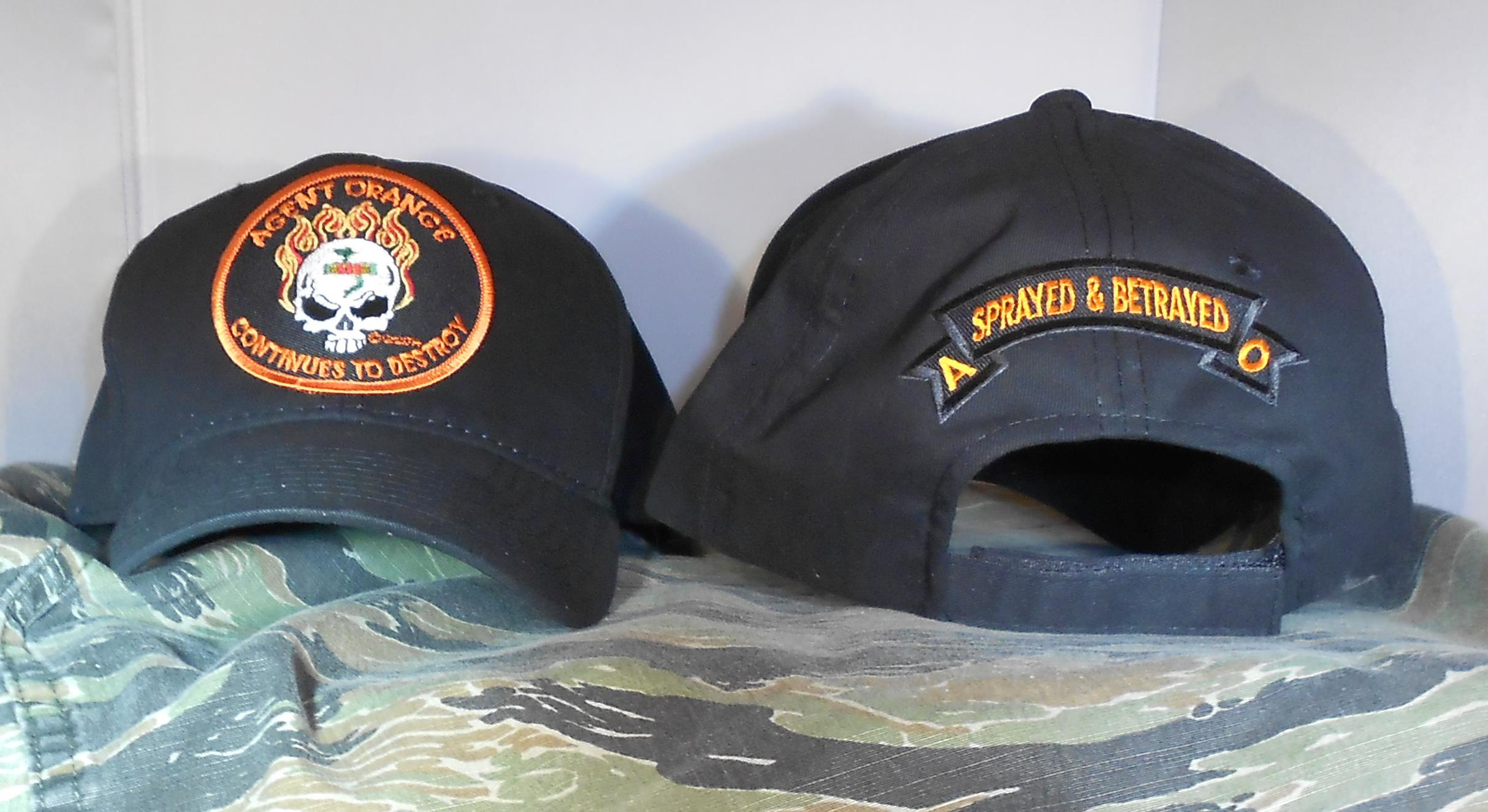 AGENT ORANGE CONTINUES TO DESTROY BLACK HATS