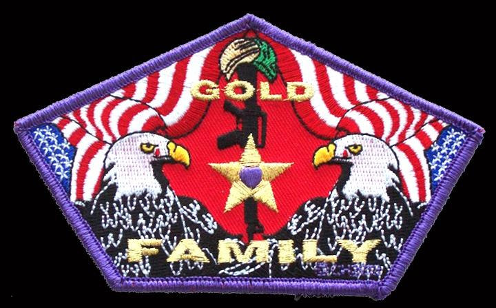 Gold Star Family Patches