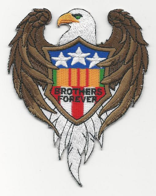 EAGLE BROTHERS FOREVER PATCHES