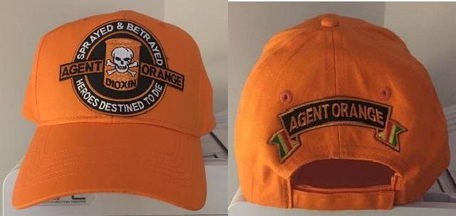 HEROES DESTINED TO DIE ORANGE HATS
