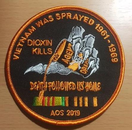 VIETNAM WAS SPRAYED 1961 -1969 PATCH