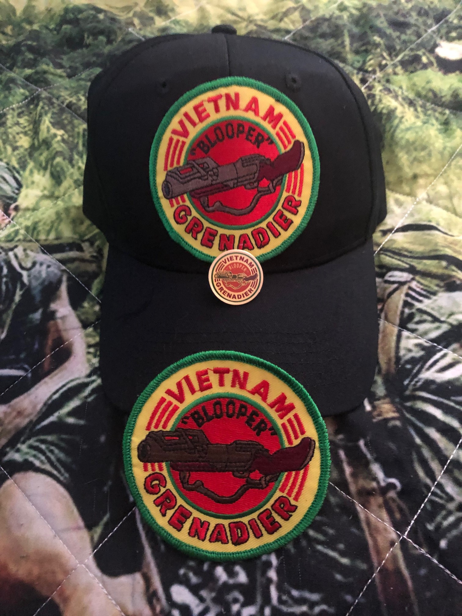 "VIETNAM ""BLOOPER"" GRENADIER HAT SPECIAL"