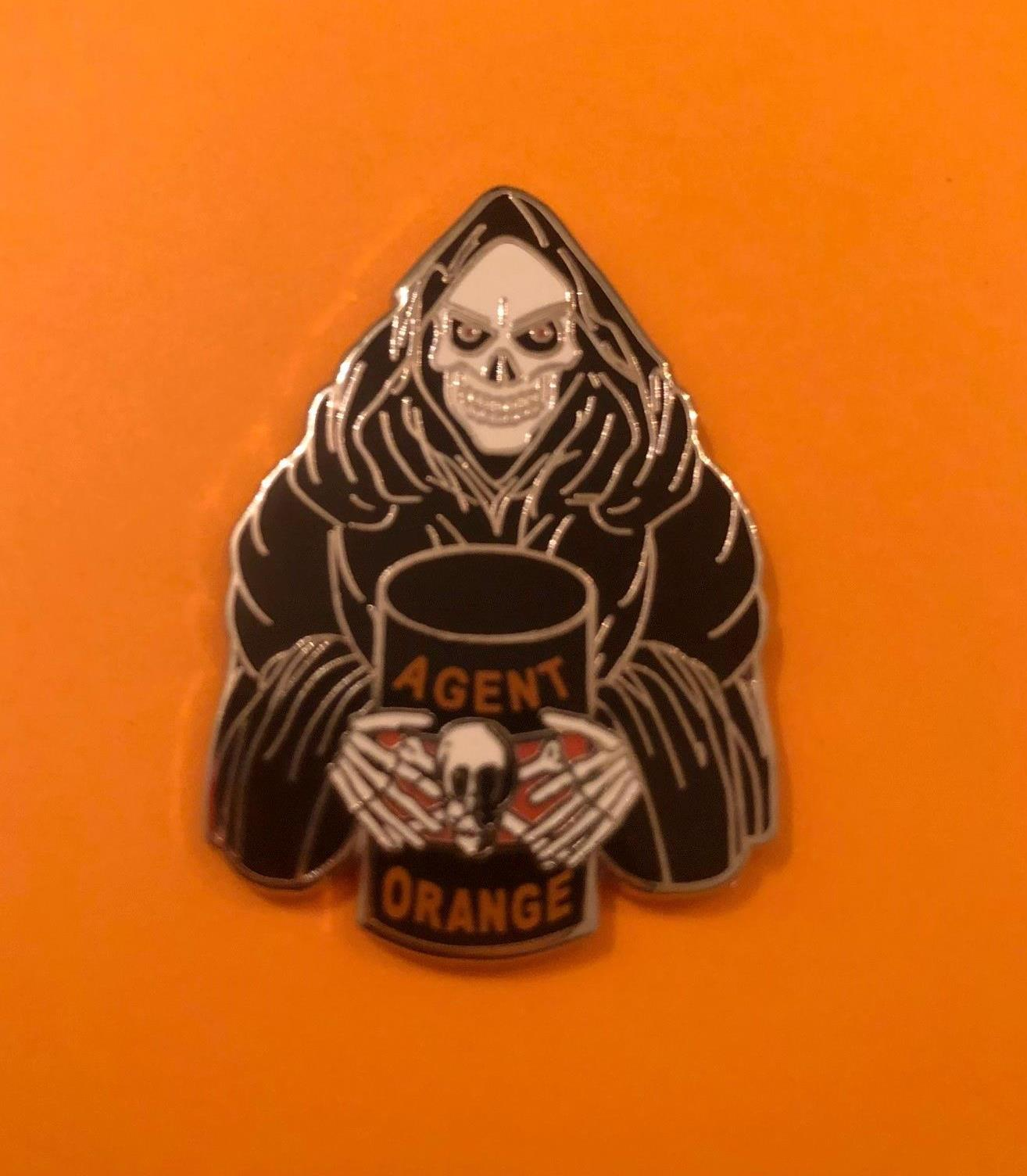 AGENT ORANGE GRIM REAPER PIN
