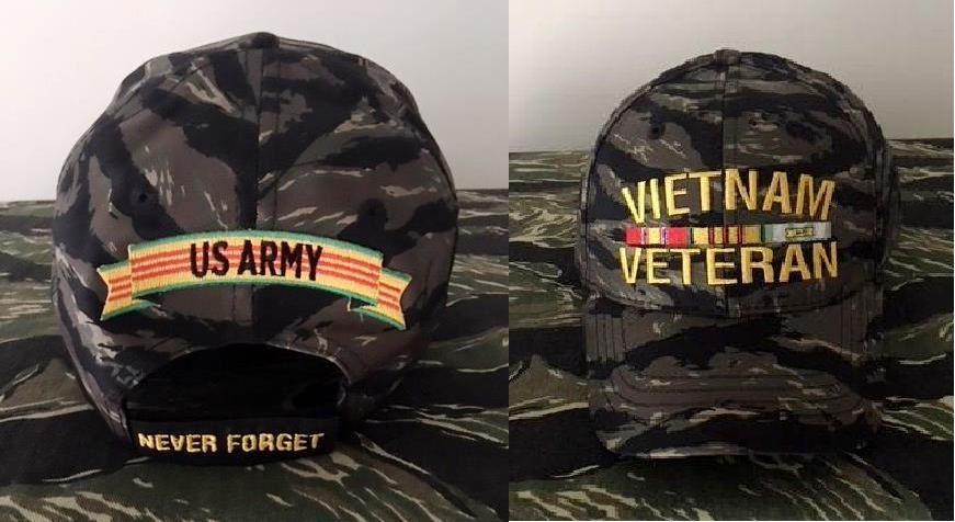 VIETNAM TIGER STRIPE HATS