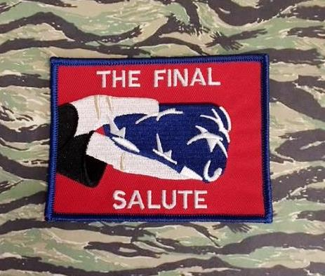 THE FINAL SALUTE PATCHES