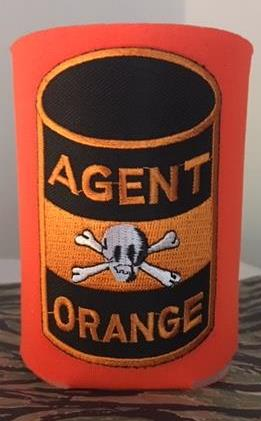 55 GALLON DRUM KOOZIE CAN COOLER ORANGE