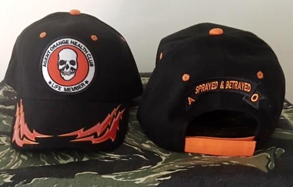 AGENT ORANGE HEALTH CLUB BOLT HAT