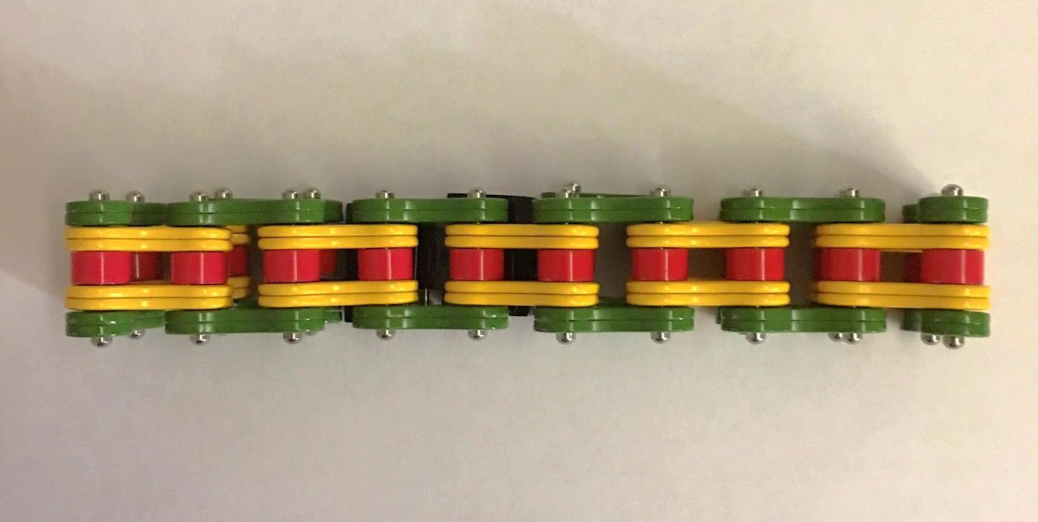 VIETNAM SERVICE RIBBON BIKE CHAIN BRACELET