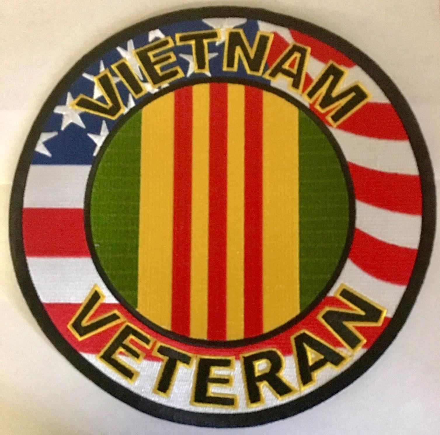 VIETNAM VETERAN BACK PATCH