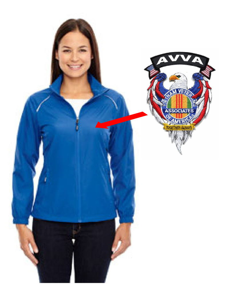 AVVA LADIES JACKET WITH EAGLE AVVA PATCHES