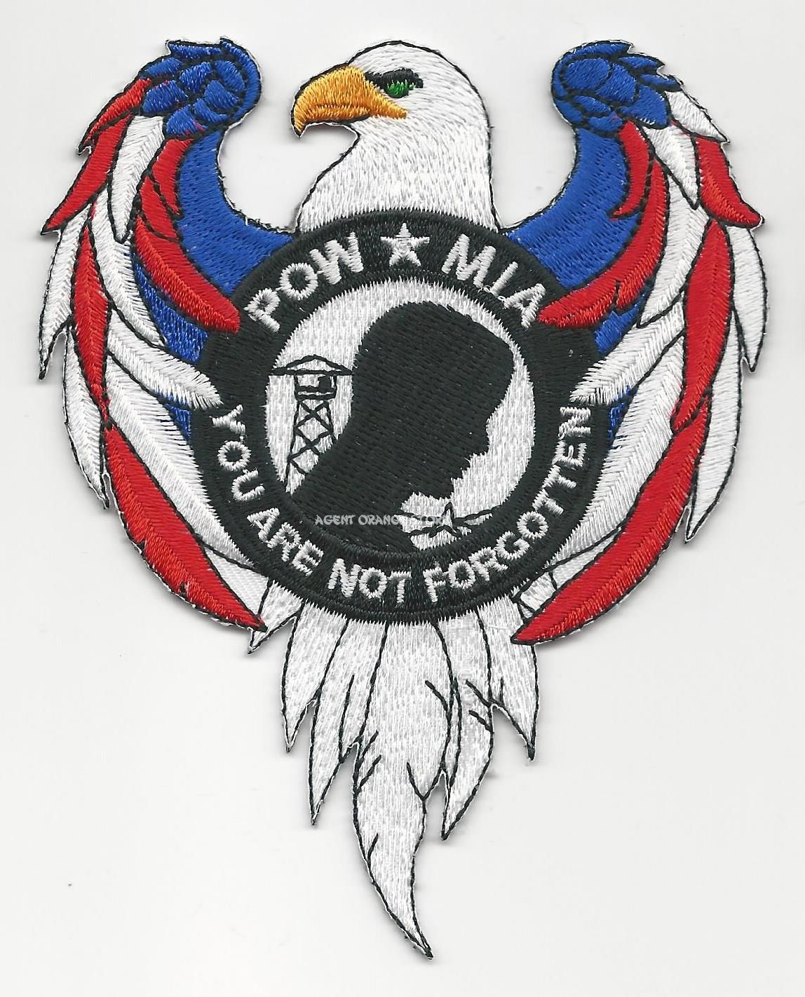POW/MIA EAGLE PATCHES