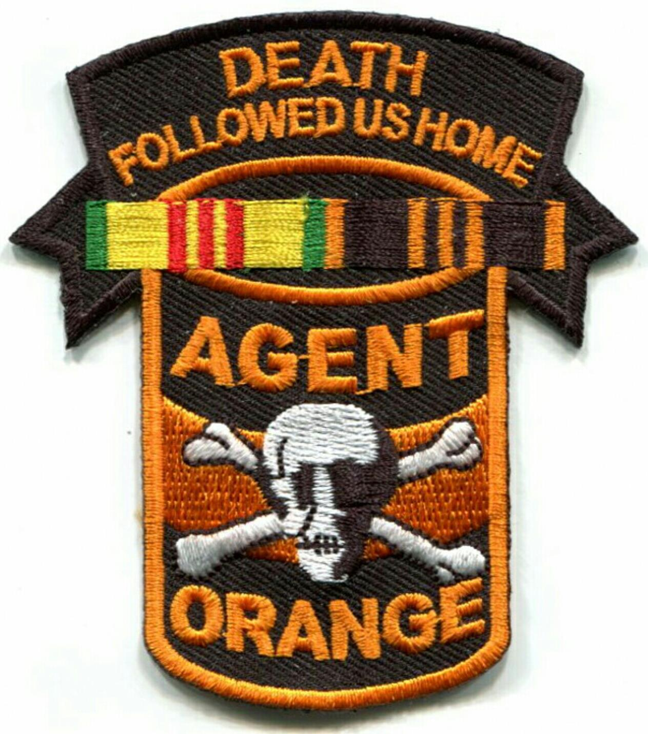 DEATH FOLLOWED US HOME PATCHES