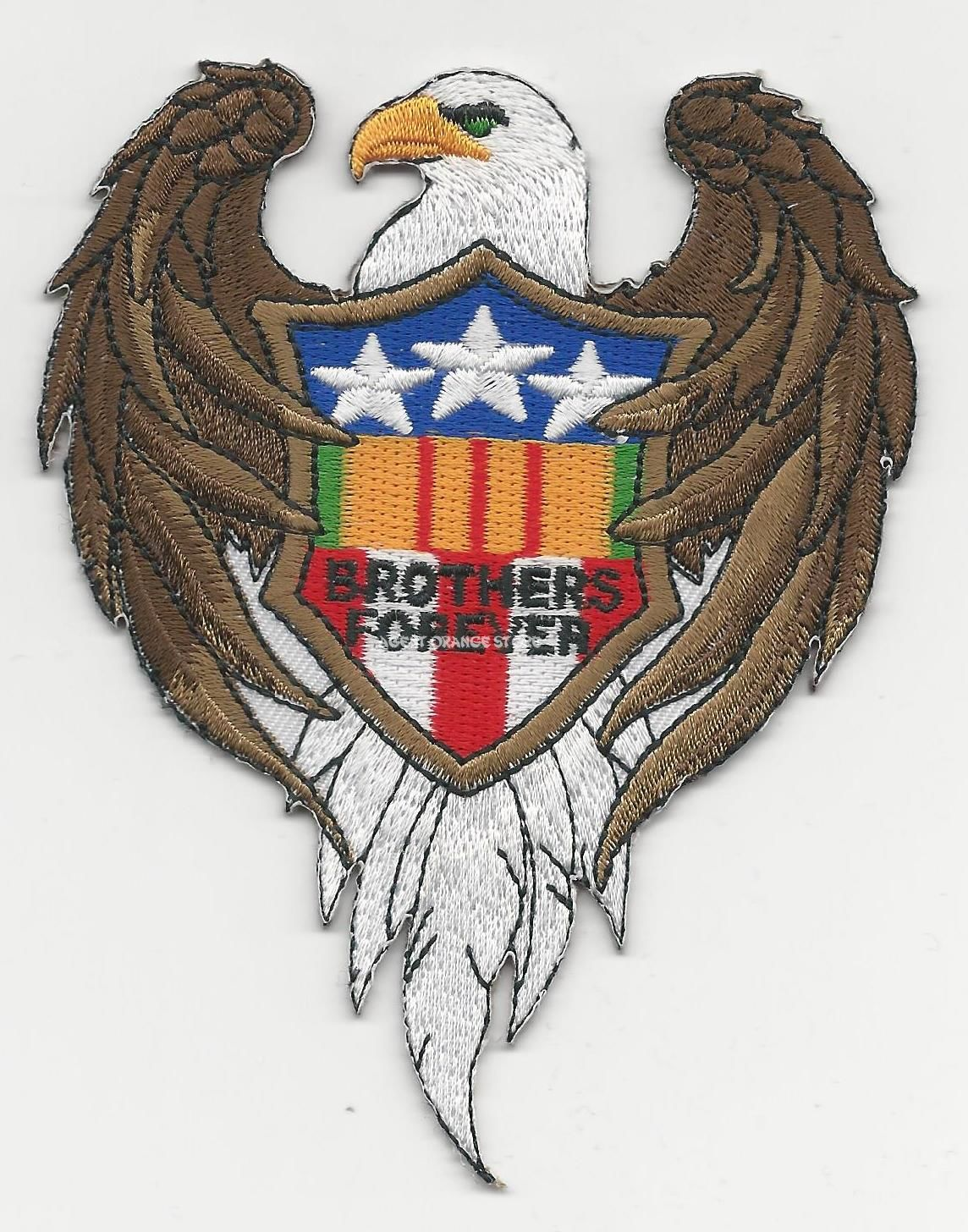 BROTHERS FOREVER EAGLE PATCHES