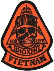 AGENT ORANGE VIETNAM PATCHES