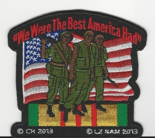 We Were The Best America Had Patches